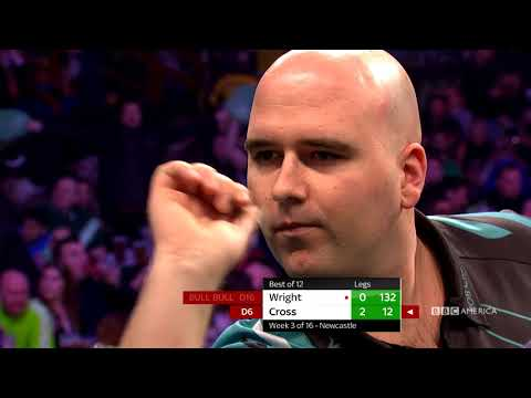 NEWCASTLE P. Wright V R. Cross: Full Match | Thursday Night Darts | 10/9c On BBC America