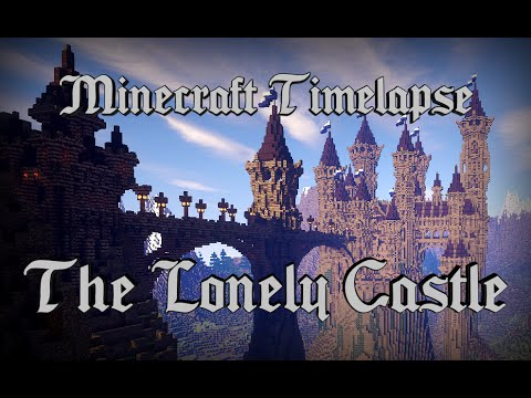 The Lonely Castle – Epic Minecraft Timelapse [Full HD 1080p] + Download