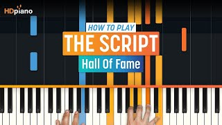 "Video How To Play ""Hall Of Fame"" by The Script 