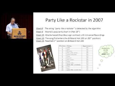 Professor  'Yuval Shavit: Dynamik der Dateitausch-Netzwerke