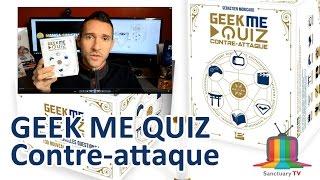 Geek Me Quiz contre-attaque - Présentation du jeu de société