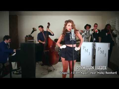 Oops!… I Did It Again – Vintage Marilyn Monroe Style Britney Spears Cover ft. Haley Reinhart