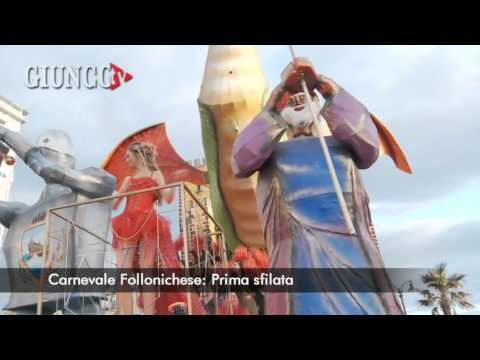 """Carnevale di Follonica: il """"film"""" della prima sfilata. GUARDA"""