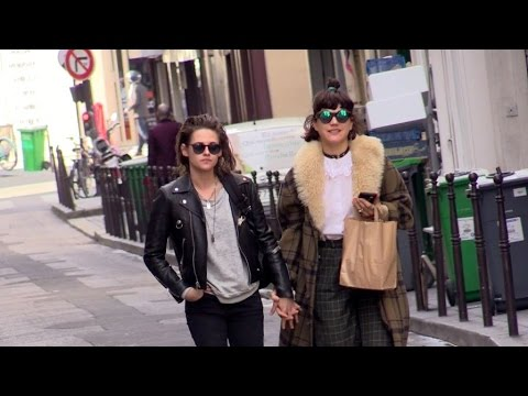 Exclusive: Kristen Stewart And Soko Very Much In Love In The Streets Of Paris
