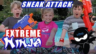Sneak Attack Squad Ninja Training