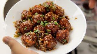 वेज मंचूरियन बनाने की विधि - vegetable dry restaurant cabbage manchurian recipe cookingshooking