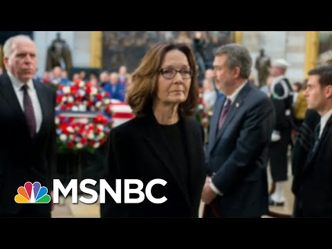 Gina Haspel Becomes CIA Director 'For Real' After Briefing   Morning Joe   MSNBC
