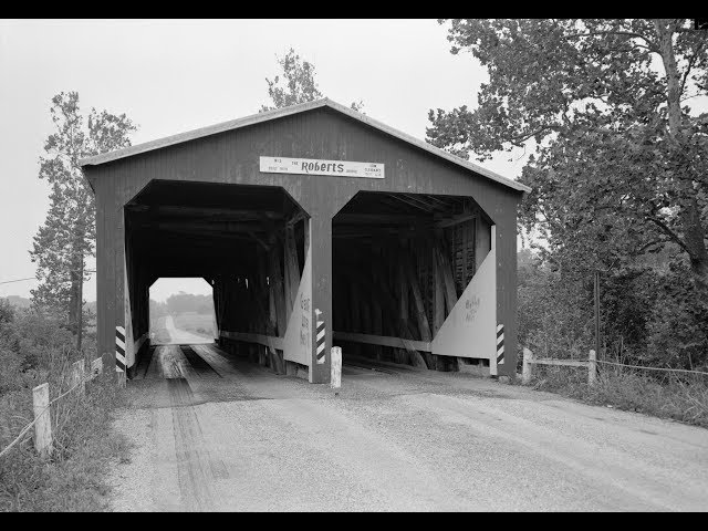 The  Roberts  Covered  Bridge,  Eaton,  Ohio