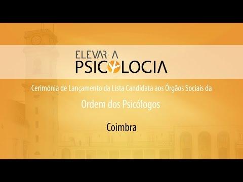 Lançamento da Campanha «Elevar a Psicologia» em Coimbra