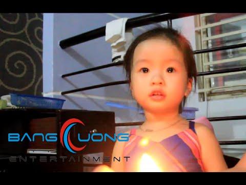 Cháu gái 2 tuổi chúc mừng sinh nhật Bác Bằng Cường