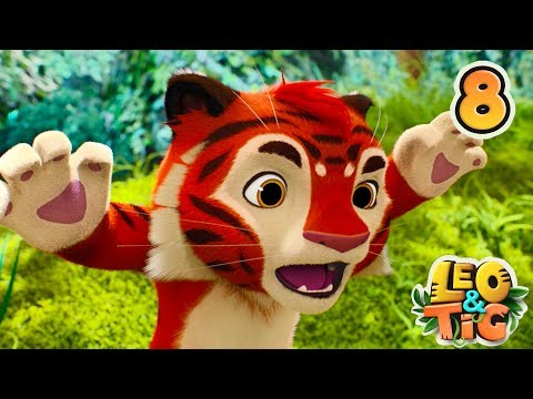 Leo and Tig - Episode 8 - Bear Berries and Bees - Animated movie for kids 2018 - Moolt Kids Toons
