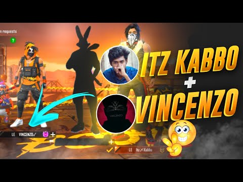 Vincenzo আর Itz Kabbo যখন একসাথে রাংক ম্যাচ এ 😱 || Playing Rank With Vincenzo In Vincenzo Livestream