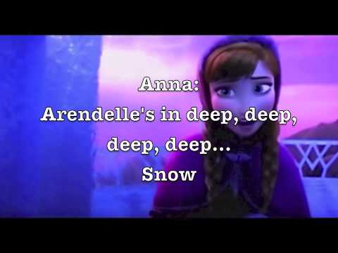 For the First Time in Forever (Reprise) - Kristen Bell, Idina Menzel (with Anna and Elsa lyrics)