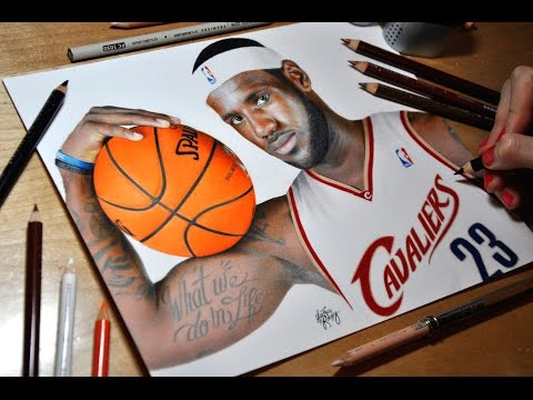 Drawing LeBron James - Heather Rooney
