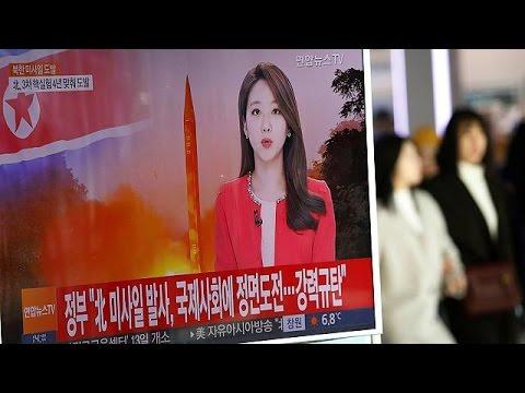 Έντονες αντιδράσεις μετά την δοκιμή πυραύλου από τη Βόρεια Κορέα