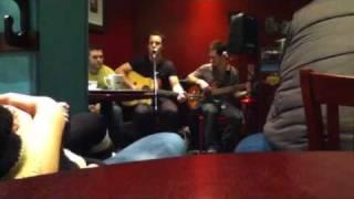 Sam Gray singing Xmas songs