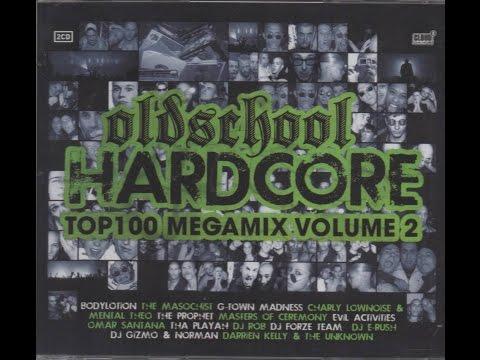 Oldschool Hardcore - Top 100 Megamix - Vol. 2 - CD1 (видео)