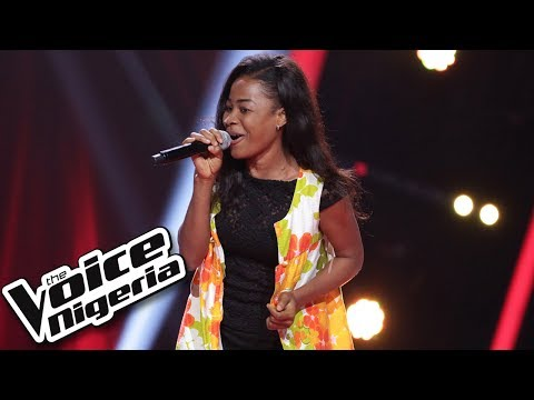 """Favour Johnson sings """"Kissing"""" / Blind Auditions / The Voice Nigeria Season 2"""