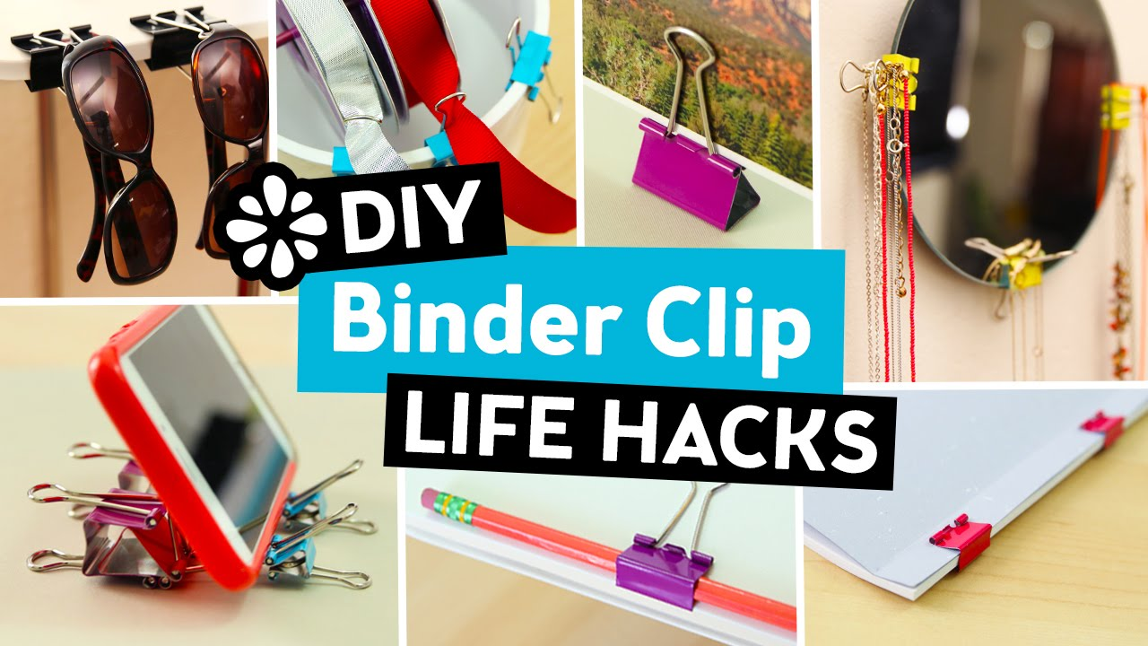 Picture of 10 Uncomplicated Do it yourself Binder Clip Lifestyle Hacks  Sea Lemon