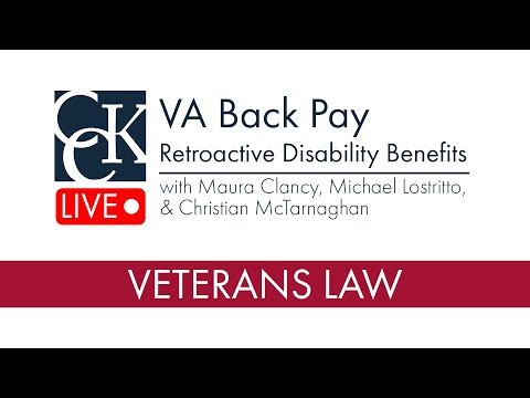 VA Back Pay (Retroactive Benefits)