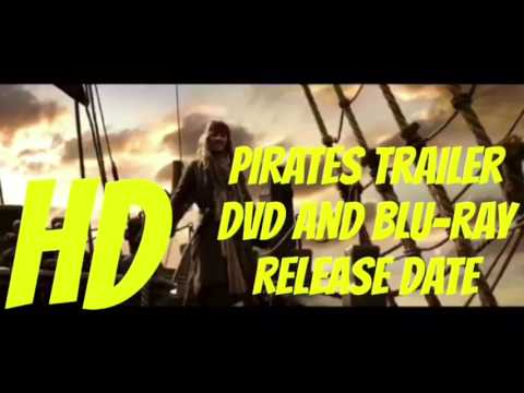 Pirates Of The Caribbean Dead Men Tell No Tales DVD And Blu-ray Release Date Trailer☠️