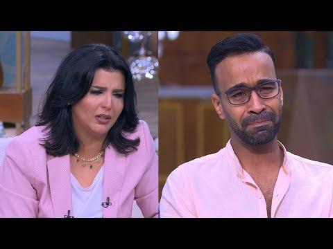 منى الشاذلي توقف برنامجها بسبب بكاء محمود الليثي