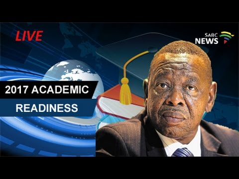 Blade Nzimande reports back on 2017 academic readiness