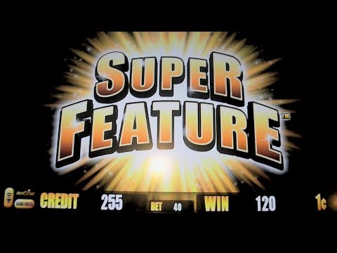 5 Frogs – NEW GAME SUPER FEATURE – Las Vegas Slot Machine Win