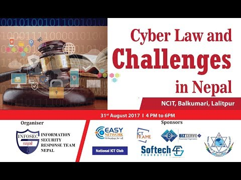 (Cyber Law and Challenges in Nepal by NPCERT at NCIT...9 min, 38 sec.)