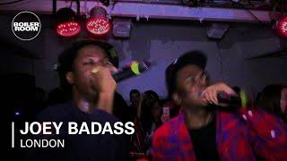 Joey Bada$$ vídeo clip Wavves (The Boiler Room) (Live)