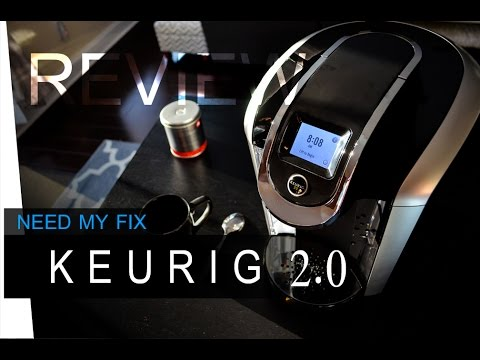 KEURIG 2.0 Brewing System - REVIEW  ( K350 - K450 - K550 )