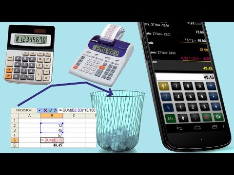 Video of Calculator or spreadsheet ?