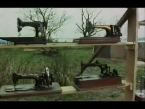 Sewing Machine - This is what I call production quality, people! Here is an awesome old show where Tim Hunkin explains the history and mechanics of the sewing machine. At one...