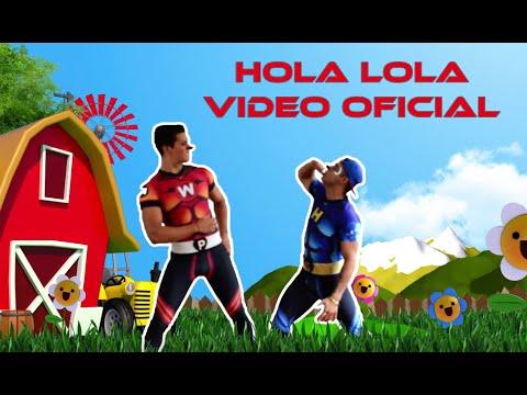 Wapayasos y Horripicosos  HOLA LOLA ( La Vaca Lola ) Video Oficial