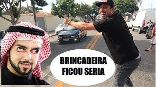 Dono de MAREA Brigando COMIGO, MAGOEI ! Loja Rei do OLEO SJC
