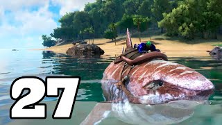 EL MEGALODÓN CAGÓN!! ARK: Survival Evolved #27