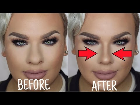 Video How to Make a BIG Nose look Small   Nose Contouring download in MP3, 3GP, MP4, WEBM, AVI, FLV January 2017