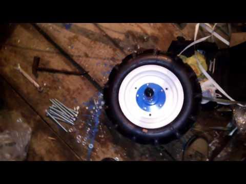 Утяжелители колес для мотоблока своими руками 80