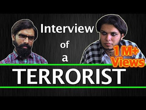 Interview Of A Terrorist | Sadak Chhap