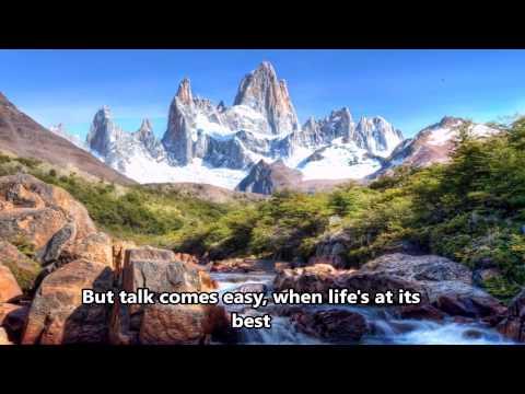 God on the mountain - Lynda Randle - Lyrics- (HD scenic) (видео)
