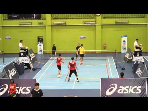 Asics Badminton Championship 2015 (видео)