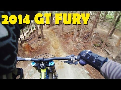 2014 GT Fury Downhill Mountain Biking – Whistler Bike Park