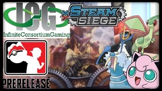 Pokemon XY Steam Siege Prerelease Vlog and Pack Opening! by Master Jigglypuff and Friends