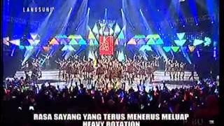 Video Heavy Rotation Mega Konser JKT48 Warnai Harimu (RCTI) MP3, 3GP, MP4, WEBM, AVI, FLV September 2018