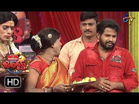 Hyper Aadi, Raising Raju Performance | Jabardasth | 1st February 2018    | ETV  Telugu (видео)