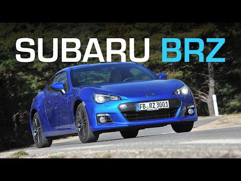 Subaru BRZ Тест Subaru BRZ