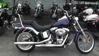 1. 054397 - 2007 Harley Davidson Softail Custom FXSTC - Used Motorcycle For Sale