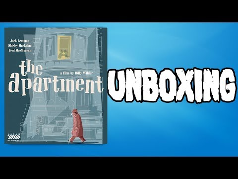 The Apartment Blu-ray Unboxing and Review from Arrow Academy