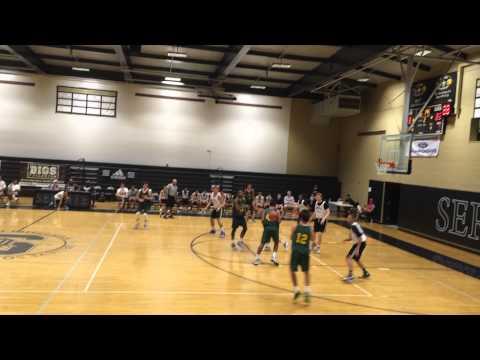 Randall Walker #53 Edison vs Servite Summer 2015