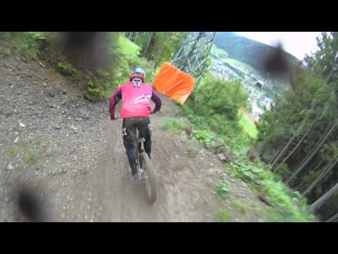downhill e drifting in austria!